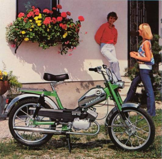 schalten am moped